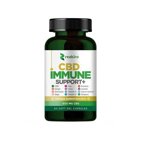Zobrazit detail výrobku Reakiro Reakiro CBD Kapsle na podporu imunity 600 mg CBD, 60 ks