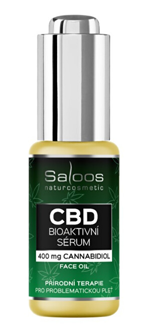 Zobrazit detail výrobku Saloos CBD Bioaktivní sérum 20 ml