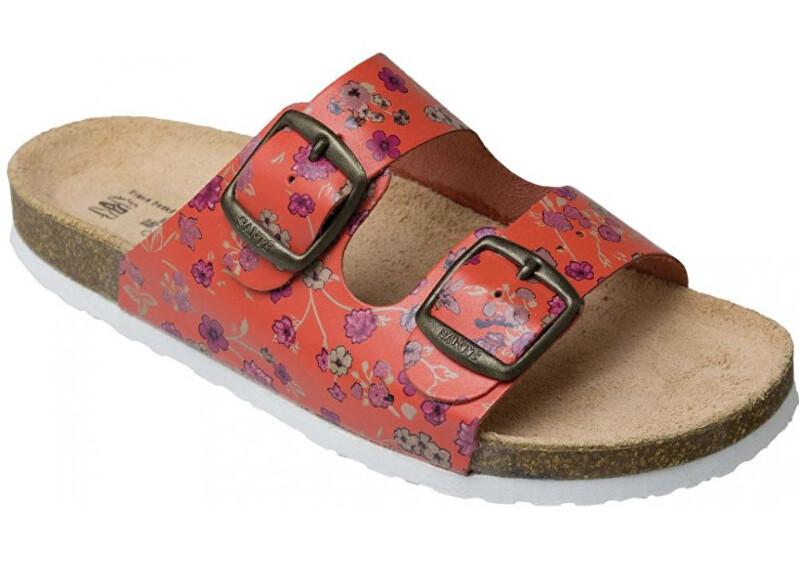 Zobrazit detail výrobku SANTÉ Zdravotní obuv dětská - D/203/31K/BP ORANŽOVÁ 33