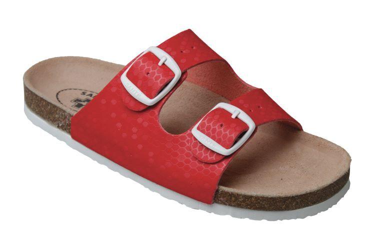 Zobrazit detail výrobku SANTÉ Zdravotní obuv dětská - D/203/31M/BP ČERVENÁ 33
