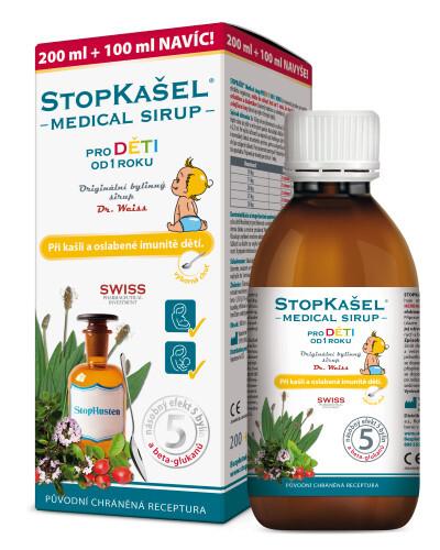 Zobrazit detail výrobku Simply You StopKašel Medical sirup od 1 roku 200 ml + 100 ml ZDARMA
