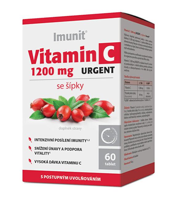Zobrazit detail výrobku Simply You Vitamin C 1200 mg URGENT se šípky Imunit 60 tablet