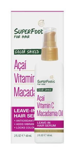 Zobrazit detail výrobku SUPERFOODS Color Shield sérum - acai, vitamín C a makadamový olej 60 ml