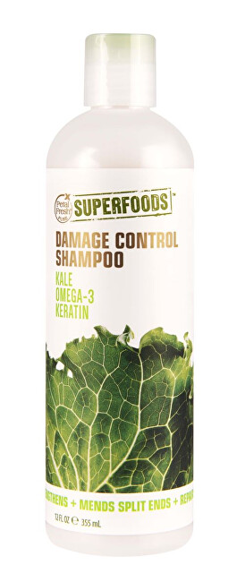 Zobrazit detail výrobku SUPERFOODS Damage Control šampon - kapusta, Omega3 a keratin 355 ml