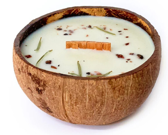Zobrazit detail výrobku Tropikalia Svíčka z kokosu - Vůně lesa