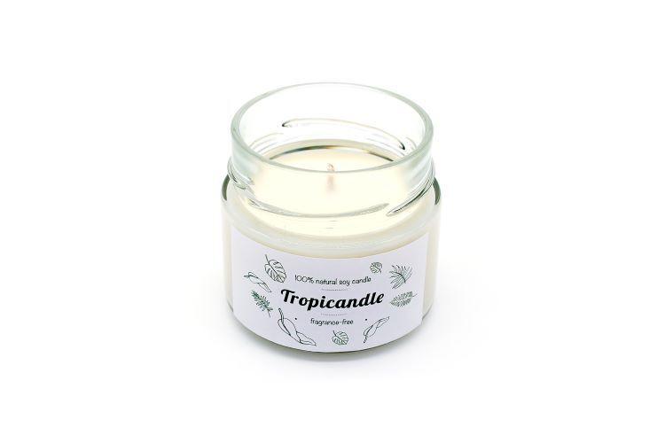 Zobrazit detail výrobku Tropikalia Tropicandle - Fragrance free