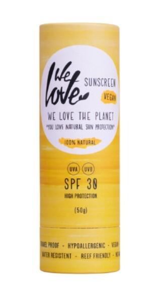 Zobrazit detail výrobku We Love the Planet Přírodní opalovací krém v tyčince SPF 30, 50 g
