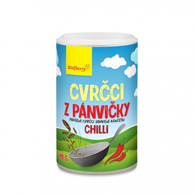 Zobrazit detail výrobku Wolfberry Cvrčci z pánvičky - chilli 40 g