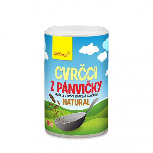 Zobrazit detail výrobku Wolfberry Cvrčci z pánvičky - natural 40 g