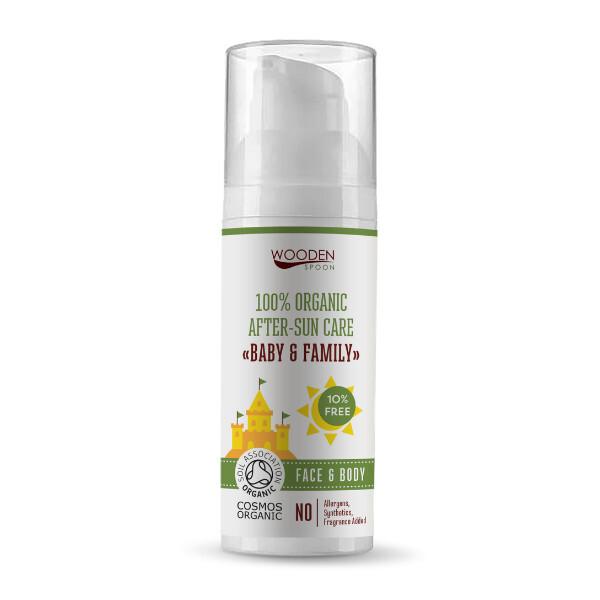 Zobrazit detail výrobku WoodenSpoon Dětský organický olej po opalování Baby & Family 50 ml