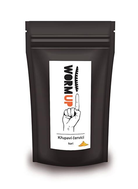 Zobrazit detail výrobku WormUP Křupaví červíci s kari – výhodné balení 80 g