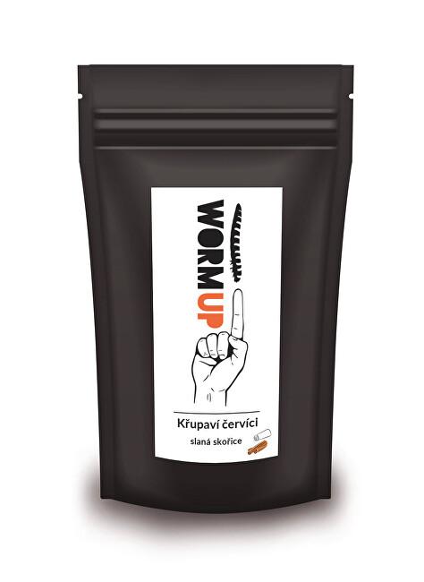 Zobrazit detail výrobku WormUP Křupaví červíci se slanou skořicí 20 g