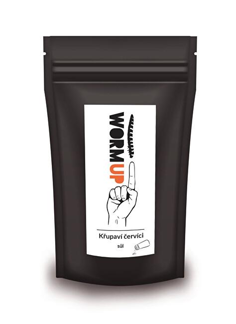 Zobrazit detail výrobku WormUP Křupaví červíci se solí – výhodné balení 80 g