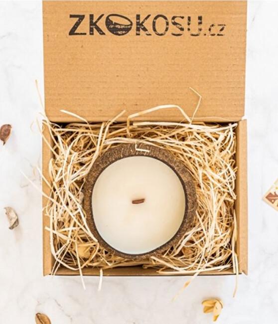 Zobrazit detail výrobku zKokosu Sojová svíčka s vůní VANILKY v dárkovém balení