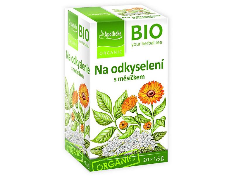 Zobrazit detail výrobku Apotheke Bio čaj na odkyselení s měsíčkem 20x1,5g