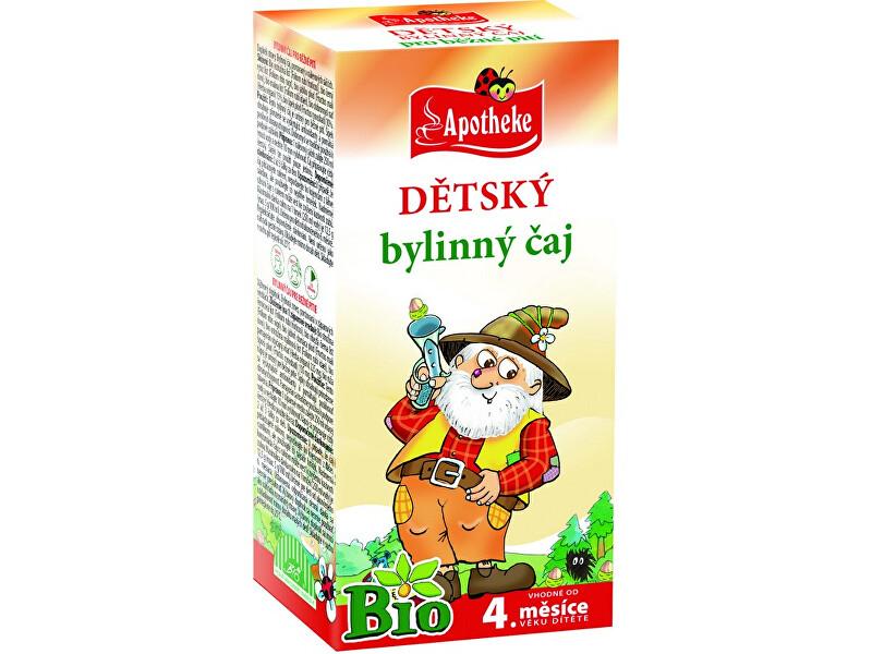 Zobrazit detail výrobku Apotheke Bio Dětský bylinný čaj Loupežník 20x1,5g