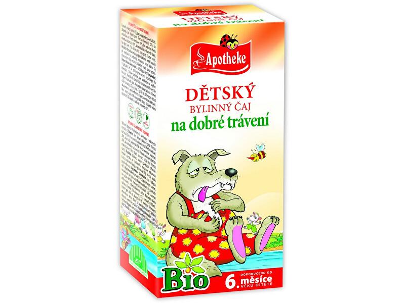 Zobrazit detail výrobku Apotheke Bio Dětský čaj dobré trávení Vlk 20x1,5g