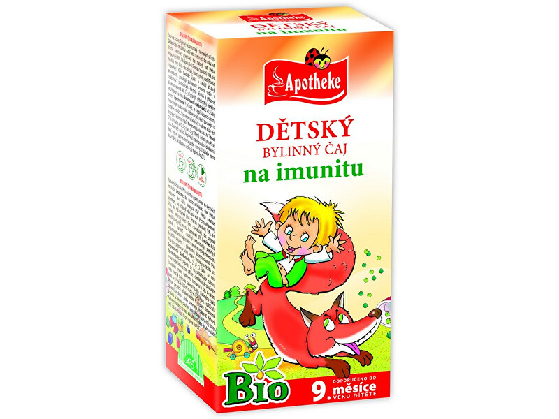 Zobrazit detail výrobku Apotheke Bio Dětský čaj na imunitu Budulínek 20x1,5g