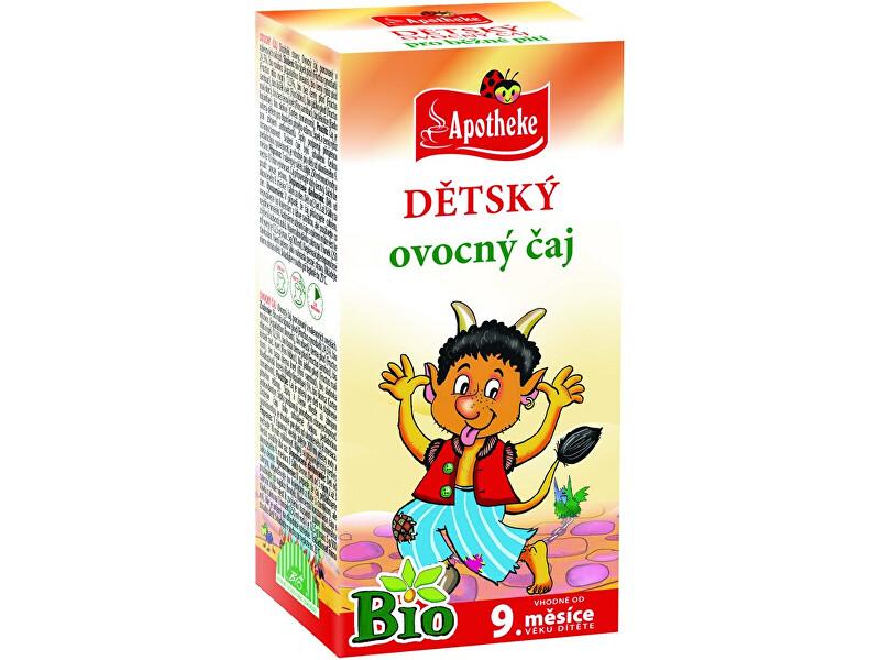 Zobrazit detail výrobku Apotheke Bio Dětský čaj ovocný Čertík 20x2g