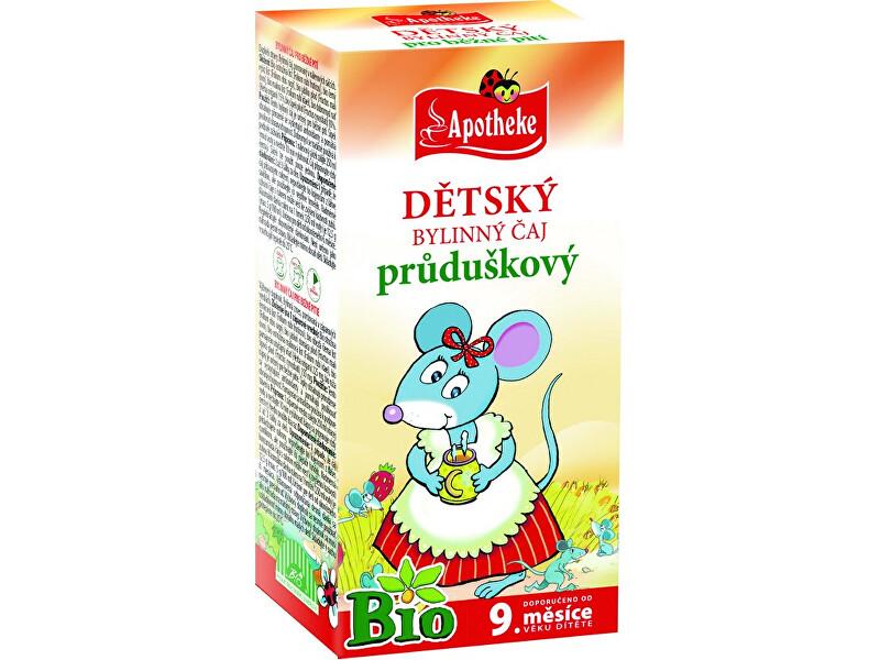 Zobrazit detail výrobku Apotheke Bio Dětský čaj průduškový Myška 20x1,5g