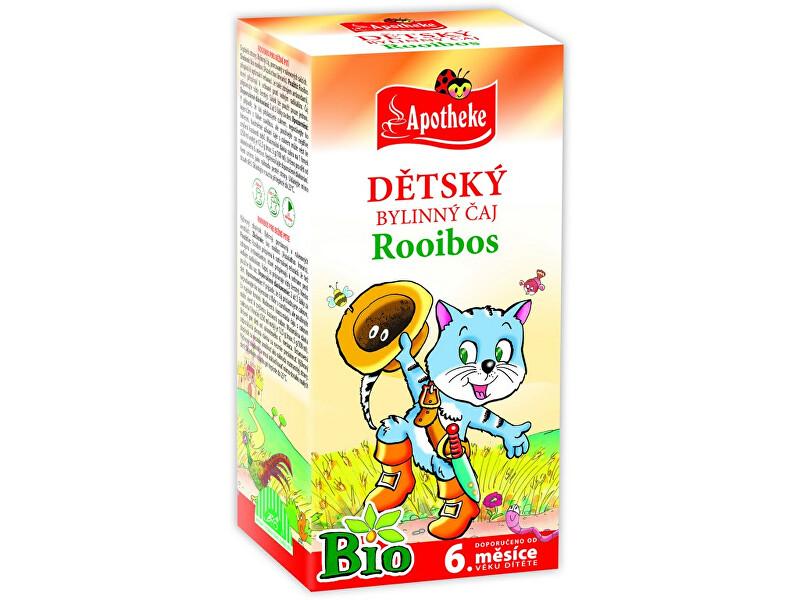 Zobrazit detail výrobku Apotheke Bio Dětský čaj rooibos Kocour 20x1,5g