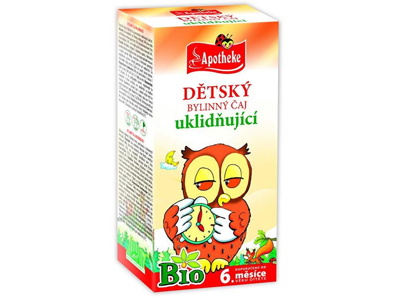 Zobrazit detail výrobku Apotheke Bio Dětský čaj uklidňující Sova 20x1,5g
