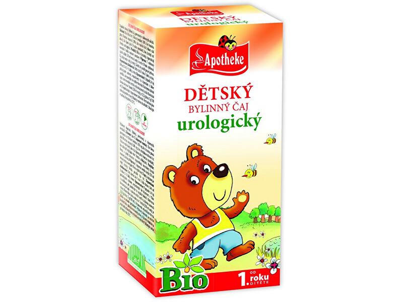 Zobrazit detail výrobku Apotheke Bio Dětský čaj urologický Medvídek 20x1,5g