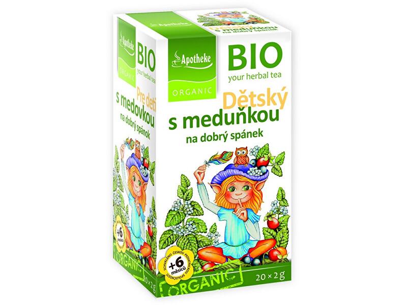 Zobrazit detail výrobku Apotheke Bio Dětský s meduňkou 20x2g