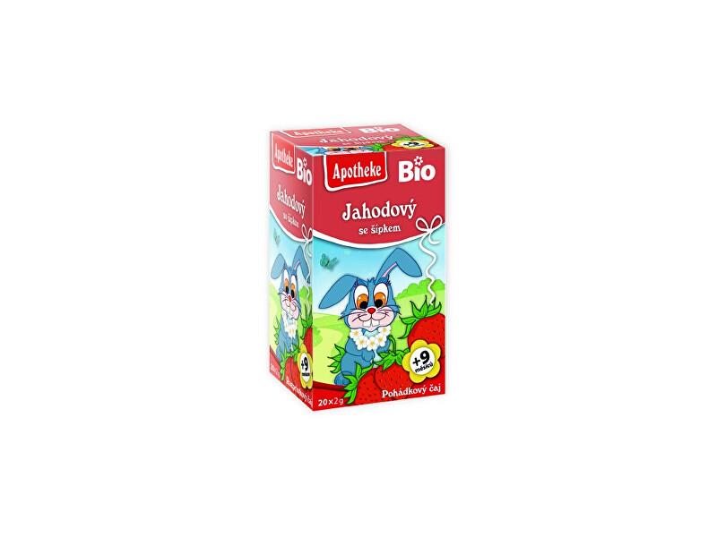 Zobrazit detail výrobku Apotheke Bio Pohádkový čaj Jahodový se šípkem 20x2g