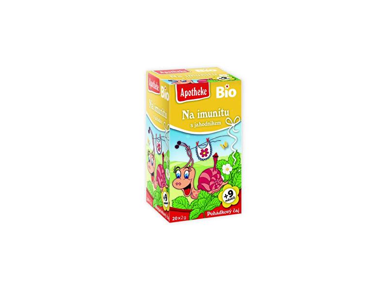 Zobrazit detail výrobku Apotheke Bio Pohádkový čaj Na imunitu s jahodníkem 20x2g