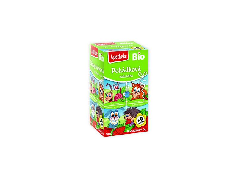 Zobrazit detail výrobku Apotheke Bio Pohádkový čaj Pohádková zahrádka 20x2g
