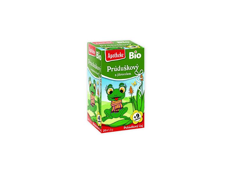 Zobrazit detail výrobku Apotheke Bio Pohádkový čaj Průduškový s jitrocelem 20x1,5g