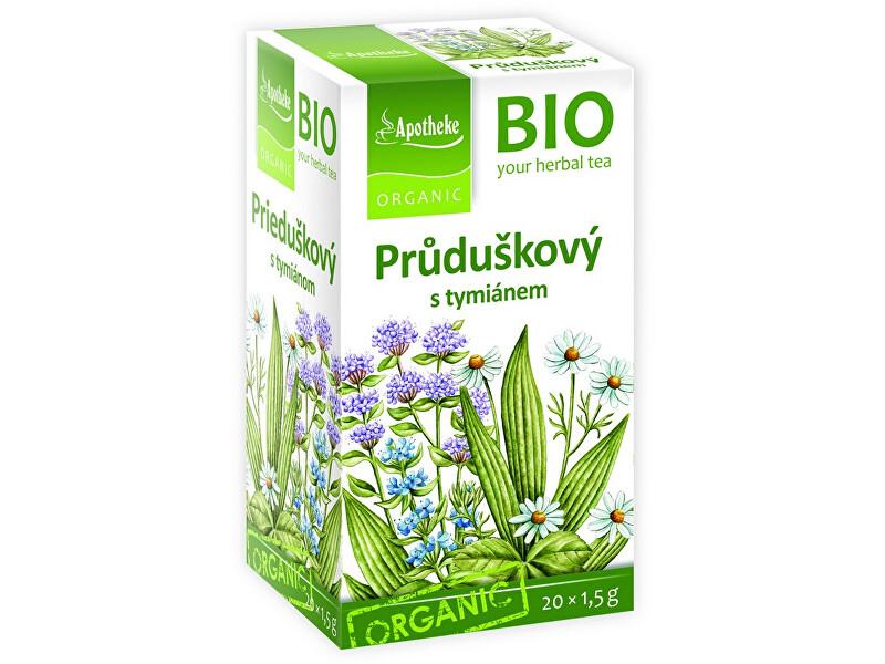 Zobrazit detail výrobku Apotheke Bio Průduškový čaj s tymiánem 20x1,5g