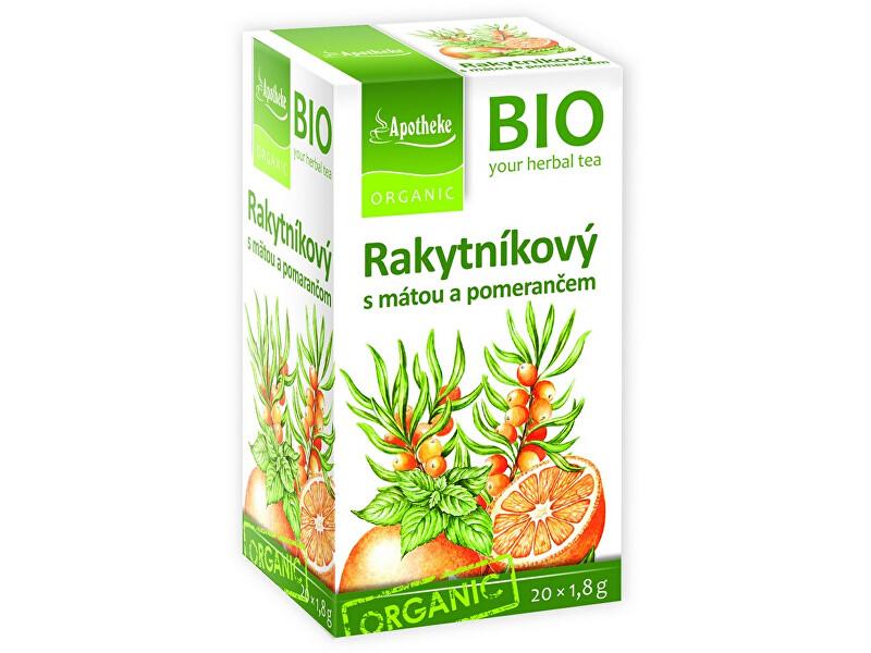 Zobrazit detail výrobku Apotheke Bio Rakytníkový čaj s mátou a pomerančem 20x1,8g