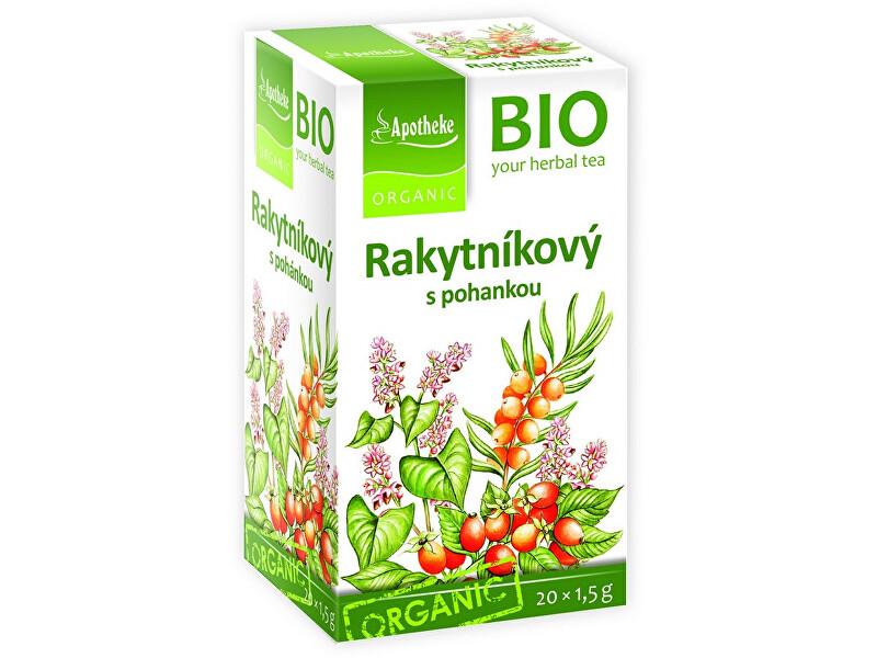 Zobrazit detail výrobku Apotheke Bio Rakytníkový čaj s pohankou 20x1,5g