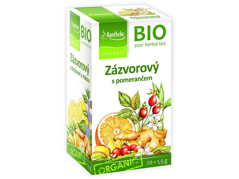 Zobrazit detail výrobku Apotheke Bio Zázvorový čaj s pomerančem 20x1,5g