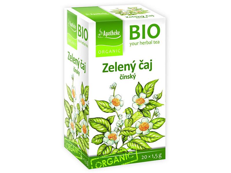 Zobrazit detail výrobku Apotheke Bio Zelený čaj čínský 20x1,5g