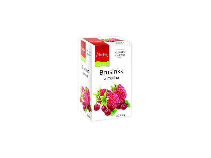 Zobrazit detail výrobku Apotheke Čaj Brusinka a malina 20x2g