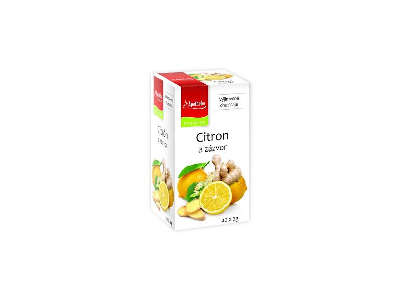 Zobrazit detail výrobku Apotheke Čaj Citron a zázvor 20x2g