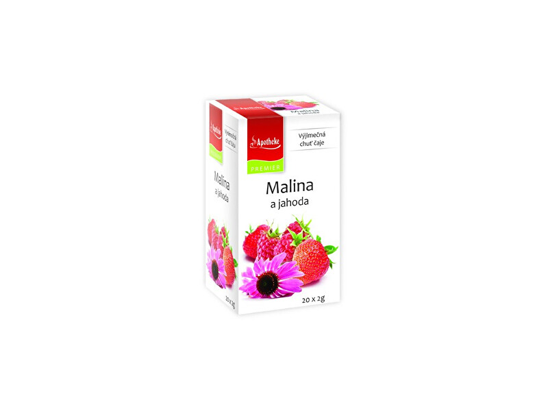Zobrazit detail výrobku Apotheke Čaj Malina a jahoda s echinaceou 20x2g
