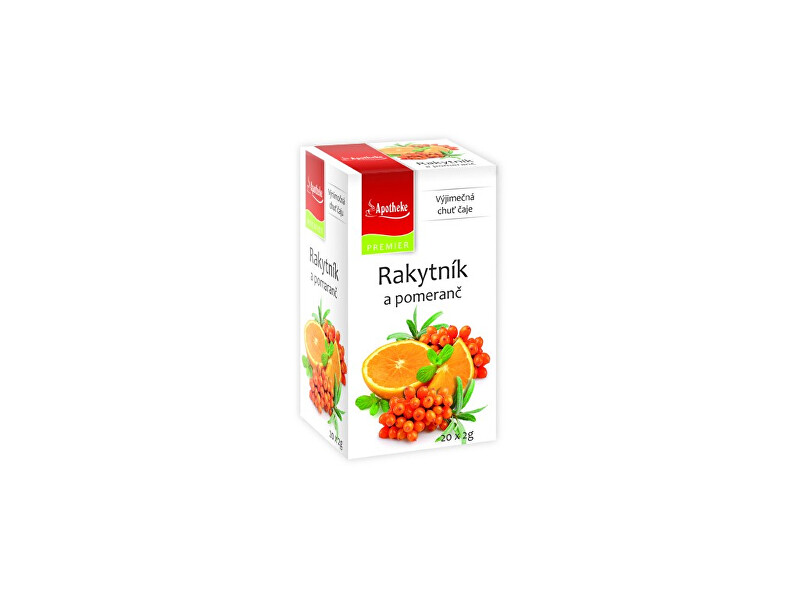Zobrazit detail výrobku Apotheke Čaj Rakytník a pomeranč 20x2g