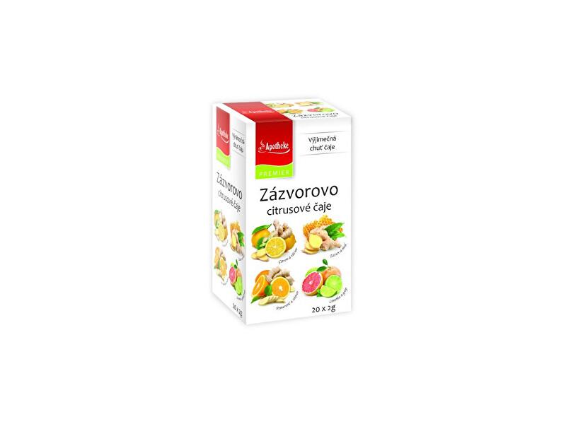 Zobrazit detail výrobku Apotheke Čaj Zázvorovo citrusová směs 20x2g