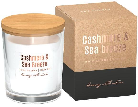 Zobrazit detail výrobku Bispol Sojová NATUR svíčka 130 g cashmere, sea breze