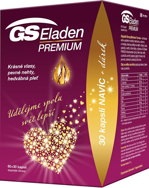 Green-Swan GS Eladen Premium 60+30 kapslí DÁREK 2021