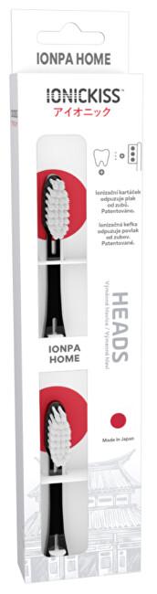 Zobrazit detail výrobku IONIC Corporation Výměnné hlavice IONICKISS IONPA HOME 2 ks Černá