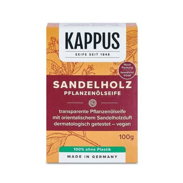 Zobrazit detail výrobku Kappus Toaletní mýdlo 100 g Santalové dřevo