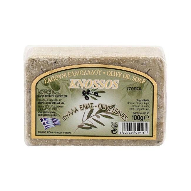 Zobrazit detail výrobku Knossos Olivové mýdlo Olivové listy 100 g