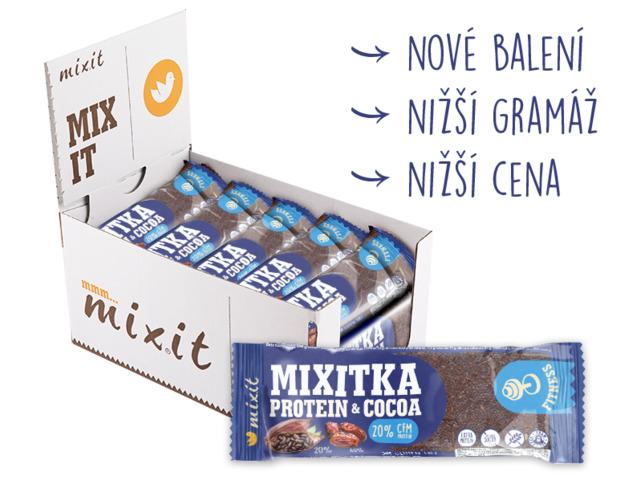 Zobrazit detail výrobku Mixit Mixitka bez lepku - Protein + kakao 20 ks