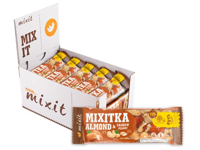 Zobrazit detail výrobku Mixit Mixitka oříšková  - Mandle a Kešu 20 ks