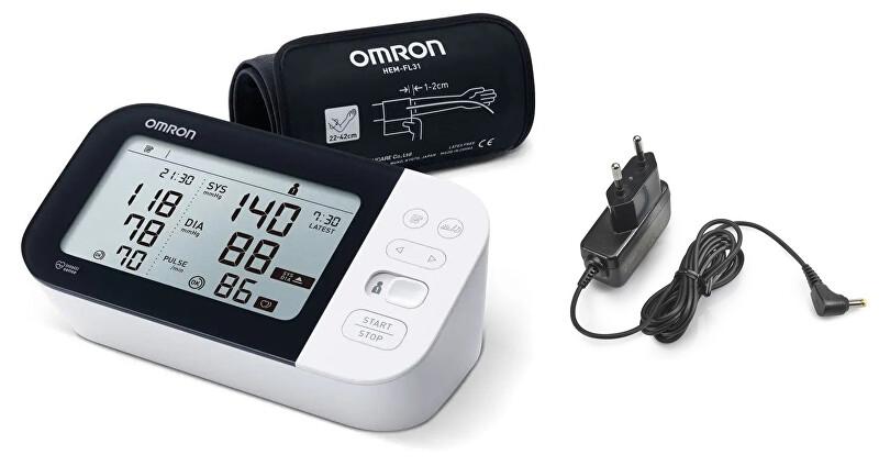 Zobrazit detail výrobku Omron Tonometr M7 IT (2020) + adaptér